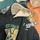 Sweater Fashion City Others S,M,L,XL,2XL Cartoon animation Socket Plush Hood winter easy leisure time teenagers like a breath of fresh air routine printing washing