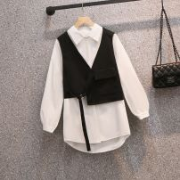 Cosplay women's wear Other women's wear goods in stock Over 14 years old 6455 black vest, 6454 white shirt, 6454 + 6455 two piece set Animation, original other See the details L suggest 100-120 Jin