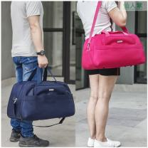 Travel bag oxford nothing Other / other 91 black, 91 red, 91 rose, 91 Navy Small, medium, large yes travel Single root Japan and South Korea Bag type polyester fiber Soft handle Solid color youth inside pocket with a zipper candy 512AC006 male