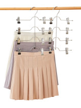 Pants rack Black bold pink bold grey bold apricot bold sky blue foldable 2, 3, 4, 6 Organize / store ztqj001 Dichang (packaging) no Wardrobe / cloakroom public Japanese  Solid color Asia Taiwan, China