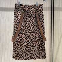 skirt Autumn 2020 XS/1 S/2 M/3 L/4 XL/5 Leopard Print Short skirt Versatile High waist A-line skirt Leopard Print Type A 30-34 years old 5200280-4A27733-001 81% (inclusive) - 90% (inclusive) other Manetti cotton Cotton 86.7% polyester 9.6% polyurethane elastic fiber (spandex) 3.7%