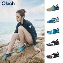 Beach Shoes / sandals / Slippers 51-100 yuan lovers Skid resistance, wear resistance, air permeability, quick drying and light wrapping Sandals Summer of 2019 Rome round the corner Sleeve China