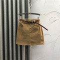skirt Autumn 2020 S M L XL Brown Black Khaki Short skirt commute High waist A-line skirt Solid color Type A JLD2020801 71% (inclusive) - 80% (inclusive) other Jane Langton cotton Asymmetric button in pocket Simplicity Cotton 80% polyester 16.5% polyurethane elastic fiber (spandex) 3.5%