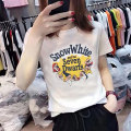 T-shirt S M L XL XXL Summer 2020 Short sleeve Crew neck easy Regular routine commute cotton 86% (inclusive) -95% (inclusive) 18-24 years old Korean version originality Cartoon animation printing Cotton 95% polyurethane elastic fiber (spandex) 5% Pure e-commerce (online only)