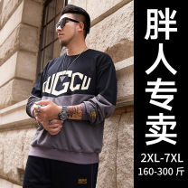 Sweater Youth fashion GxxH Alphanumeric Socket routine Hood autumn easy Other leisure Large size tide routine Cotton 80% polyester 20% cotton printing other 80% (inclusive) - 89% (inclusive) Youth fashion