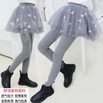 trousers Other / other female 100cm,110cm,120cm,130cm,140cm,150cm,160cm Grey spring and autumn, black spring and autumn, Navy spring and autumn, pink spring and autumn, grey Plush thickening, black Plush thickening, Navy Plush thickening, Pink Plush thickening trousers Culotte See description