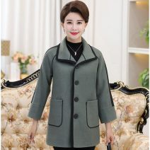 woolen coat Winter of 2019 2XL suggests 115-130 kg, 3XL 130-145 kg, 4XL 145-160 kg, 5XL 155-175 kg, l 80-100 kg, XL 100-115 kg Army green, elephant skin red, cyan gray other 71% (inclusive) - 80% (inclusive) Medium length Other / other