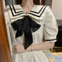 Dress Summer 2020 S 【70-95】,M 【96-110】,L 【111-120】,XL 【121-130】,2XL 【131-145】 longuette singleton  Short sleeve Sweet Admiral Princess Dress Princess sleeve Others 18-24 years old Other / other 31% (inclusive) - 50% (inclusive) other other