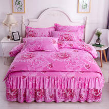 Bedding Set / four piece set / multi piece set cotton Quilting Plants and flowers 128x70 Other / other cotton 4 pieces 40 Four piece set for 1.5 * 2.0m bed, four piece set for 1.8 * 2.0m bed, four piece set for 1.8 * 2.2m bed, four piece set for 2.0 * 2.2m bed and three piece set for 1.2 * 2.0m bed