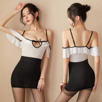 Dress Summer 2020 White, black, white and black + same opening socks Average size Miniskirt Two piece set Sweet Pleated skirt 18-24 years old Type A There's no end to flattery 8231488-39084 More than 95% other Other 100% solar system