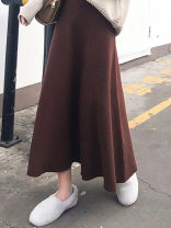 Cosplay women's wear skirt goods in stock Over 14 years old Coffee medium length, black skirt, khaki medium length, grey skirt, grey medium length, black medium length, Khaki Skirt comic S,XL,L,M Other / other ND769825