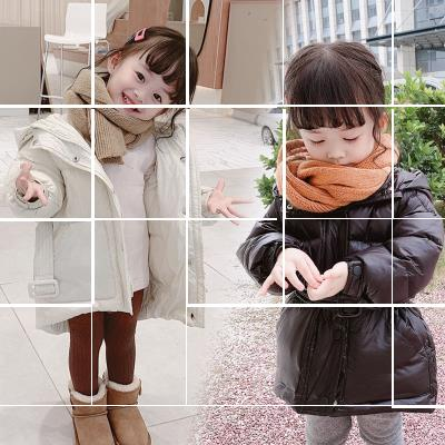 Cotton padded jacket female nothing Cotton 96% and above Other / other thickening Zipper shirt Korean version There are models in the real shooting Solid color Cotton blended fabric other Cotton liner 12 months, 9 months, 18 months, 2 years old