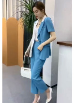 Fashion suit Summer 2021 S,M,L,XL Yellow, blue, pink 25-35 years old 31% (inclusive) - 50% (inclusive)