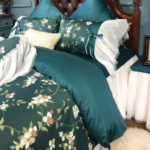 Bedding Set / four piece set / multi piece set cotton Embroidery Plants and flowers 200x95 Other / other cotton 4 pieces 60 1.5m (5 feet) bed, 1.8m (6 feet) bed, 1.8m bed (220 * 240cm quilt cover), 2.0m bed (220 * 240cm quilt cover) Qualified products 100% cotton satin-like cotton fabric 9AD072DD
