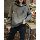 Sweater / sweater Winter 2020 grey S M L XL Long sleeves routine singleton  routine Hood Straight cylinder street routine 30-34 years old 96% and above Miheng other BB203v12971p1220 Other 100% Pure e-commerce (online only) Europe and America