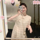 Dress Summer 2021 have more cash than can be accounted for S M L Middle-skirt Short sleeve commute 18-24 years old Yziyni / izzini Korean version More than 95% other Other 100% Same model in shopping mall (sold online and offline)