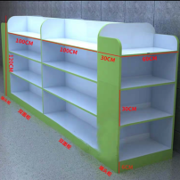Boutique display cabinet Henan Province manmade board Particleboard / melamine board