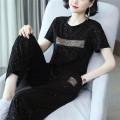 Casual suit Summer 2021 black 6XL M L XL 2XL 3XL 4XL 5XL B563 Polyester 95% polyurethane elastic fiber (spandex) 5% Pure e-commerce (online only)