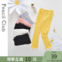 trousers Pencil Club female 100cm 110cm 120cm 130cm 140cm 150cm 160cm Golden / Black / pink off white / Pink Pink / sapphire grey spring and autumn trousers leisure time There are models in the real shooting Leggings Leather belt middle-waisted other Don't open the crotch Other 100% DG411005W Class B