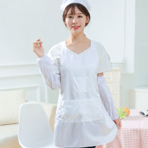 apron One white apron, one pink apron, one (white) apron hat sleeve, one pink apron hat sleeve Sleeveless apron antifouling other other Personal washing / cleaning / care Average size D800 Other / other public yes Solid color
