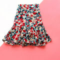 skirt Summer 2020 M (recommended 80-100 kg), l (recommended 100-125 kg), XL (recommended 125-150 kg) Black Daisy, blue daisy, Red Daisy, oil painting red flower, oil painting blue flower, oil painting purple flower Short skirt Retro High waist A-line skirt Broken flowers Type A 25-29 years old