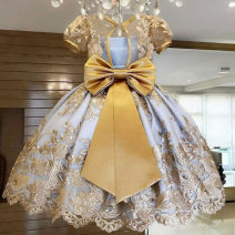 Dress Autumn 2020 702 yellow 703 704 702 blue 711 712 713 716 90cm 110cm 120cm 130cm Middle-skirt 18-24 years old KEHTD xc88703 More than 95% polyester fiber Polyester 100%