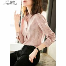 shirt Pink S,M,L,XL,2XL other 31% (inclusive) - 50% (inclusive) square neck Single row multi button Other Button