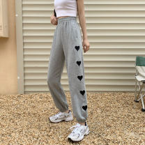 Women's large Summer 2021 grey L [95-110kg] XL [110-130kg] 2XL [130-150kg] 3XL [150-170kg] 4XL [170-200kg] trousers singleton  commute easy moderate Solid color Korean version MKD-YS8030 Mikedo 18-24 years old Other 100% Pure e-commerce (online only) trousers