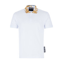 T-shirt Youth fashion routine 44 46 48 50 52 54 Versace / Versace Short sleeve Lapel standard Other leisure Cotton 100% youth Summer 2020 International brands Same model in shopping mall (sold online and offline)
