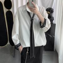 Cosplay men's wear Other men's wear Customized See description Over 8 years old White (for tie), gray (for tie), black (for tie), white long sleeve (for tie), gray long sleeve (for tie), black long sleeve (for tie), F10 black pants original L