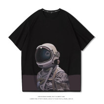 T-shirt Youth fashion routine M L XL 2XL 3XL 4XL 5XL 6XL Enjacko / enjack Short sleeve Crew neck easy Other leisure summer N0176 Cotton 100% Couples dress routine tide Knitted fabric Spring 2021 Cartoon animation printing cotton Figure pattern No iron treatment Fashion brand More than 95%