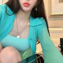 Fashion suit Spring 2021 L,S,M Khaki, lake blue, pink, black 18-25 years old 91% (inclusive) - 95% (inclusive) cotton