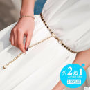 Belt / belt / chain Metal female Waist chain Sweet Single loop Youth a hook alloy Hollow bead chain Jebon Tyrone Spring and summer 2011