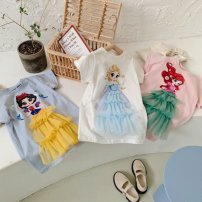 Family clothes for parents and children 80,90,100,110,120,130 other White, blue, pink, collection plus purchase priority delivery