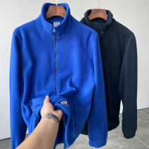 Sweater Youth fashion Biography XS,S,M,L,XL,2XL,3XL Solid color Cardigan