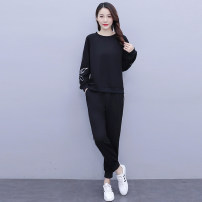 Casual suit Spring 2021 black L XL 2XL 3XL 4XL 5XL Over 35 years old JRYXJM3572 Jin Renyu Other 100% Exclusive payment of tmall