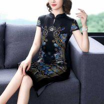 Women's large Summer 2020 Black jujube XL 2XL 3XL 4XL M L commute Korean version JRYNRJ5036 Jin Renyu 35-39 years old Other 100% Pure e-commerce (online only)