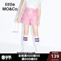 trousers Little MO&CO. neutral 140cm 150cm 155cm 110cm 120cm 100cm 130cm Bright yellow light green white cherry pink summer shorts Europe and America There are models in the real shooting Casual pants Leather belt middle-waisted nylon Don't open the crotch Polyamide fiber (nylon) 100% XYTX39587