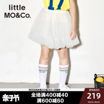 skirt 140/58 150/61 110/53 120/53 110/50 130/56 Off white black Little MO&CO. female Polyamide fiber (nylon) 100% summer skirt Europe and America Solid color nylon ZRSY46707 Summer of 2018