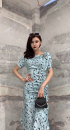Dress Spring 2021 White, blue S(1) , M(2) , L(3) Other / other 332Q515657
