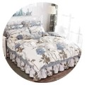 Bedding Set / four piece set / multi piece set cotton other Plants and flowers 128x68 Other / other cotton 4 pieces 40 1.5m (5 ft) bed, 1.8m (6 ft) bed, 2.0m (6.6 ft) bed, 1.2m (4 ft) bed Bedspread type Qualified products Countryside 100% cotton twill Reactive Print  oHR6Zrpk