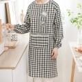 apron Sleeve apron antifouling Japanese  canvas Personal washing / cleaning / care Average size Shu Likang public no Idyllic