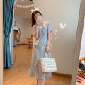 glove other Short sleeve dress (with fishtail) SLING DRESS short sleeve dress without fishtail S M L XL Yugou Summer 2021