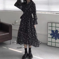 Scarf / silk scarf / Shawl other Floral skirt s Floral Skirt M floral skirt l Floral Skirt XL Spring and autumn and winter female Korean version Broken flowers 51% (inclusive) - 70% (inclusive) Yugou Winter 2020