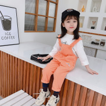 trousers Leopard rabbit female 90cm 100cm 110cm 120cm 130cm Orange purple spring and autumn trousers Korean version There are models in the real shooting rompers Leather belt middle-waisted other Don't open the crotch Other 100% L7011 other Autumn 2020 Chinese Mainland Zhejiang Province Huzhou City