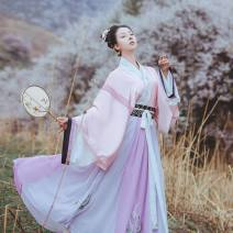 Hanfu 96% and above Autumn of 2019 S,M,L polyester fiber
