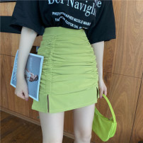 Cosplay women's wear Other women's wear goods in stock Over 14 years old Black skirt, fruit green skirt, T-shirt white, T-shirt black comic M. S, one size fits all Other / other