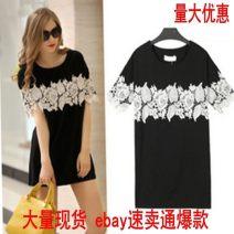 Dress Spring 2021 black M,L,XL,XXL,XXXL,4XL