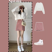 Fashion suit Spring 2020 S M L XL Bodyguard + skirt [single piece] bodyguard [single piece] skirt 18-25 years old Chang Xiao Other 100% Pure e-commerce (online only)