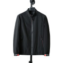 Jacket Other / other Fashion City black 170,175,180,185,190,195 routine standard Other leisure spring Long sleeves Wear out stand collar Business Casual youth routine Zipper placket Straight hem Loose cuff Solid color Arrest line Side seam pocket polyester fiber